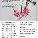 Présentation des cours à Versailles 2019-2020