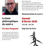Affiche Conférence Alain Plaignaud 8 février 2020