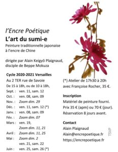Flyer A6 Cours Versailles 20-21